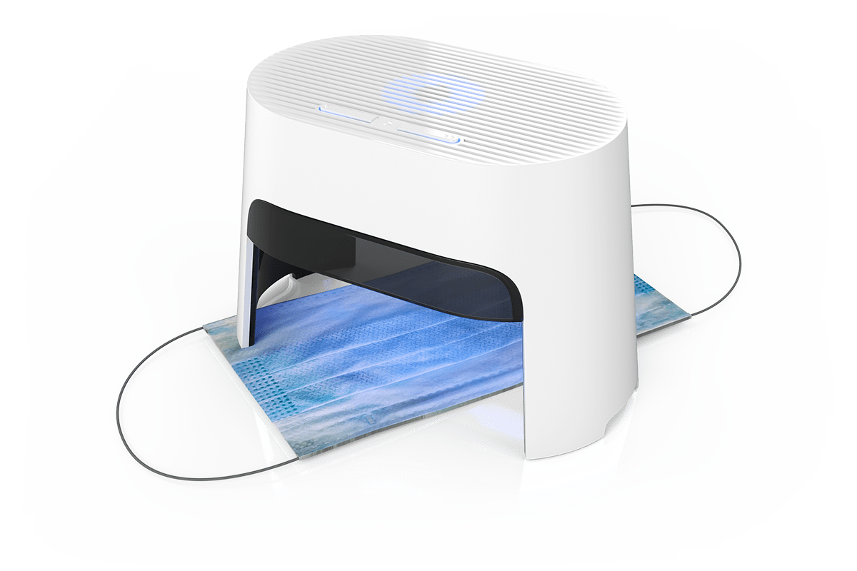 Rechargeable drying box for all hearing aids: dry-cap uv 3® - mask