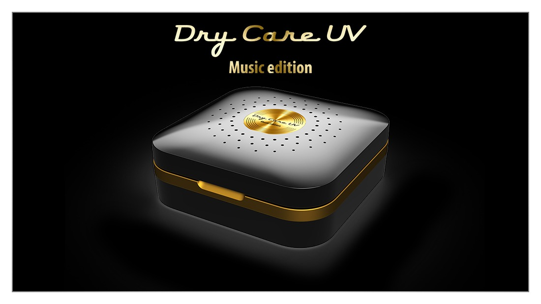 Neues dry-care uv - Music edition